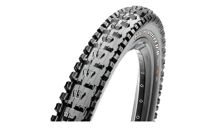 Maxxis High Roller II 27.5×2.4 Folding 3C Maxx Grip 2-Ply Tubeless Ready 60TPI Black MTB Tire