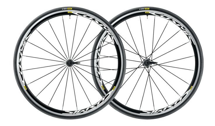 Mavic Cosmic Elite UST QR Black Road Wheelset
