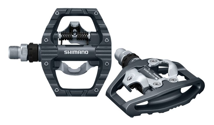 Shimano PD-EH500 Single-Sided SPD Flat Pedals