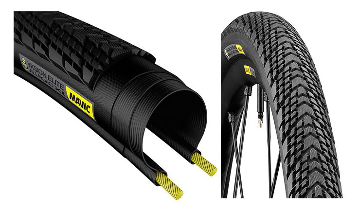 Mavic Yksion Allroad XL Front/Rear UST Tubeless Clincher Black 700×40