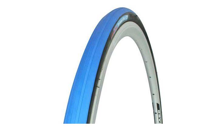 Tacx 700x23C Folding 60TPI 80PSI Trainer Tire Blue