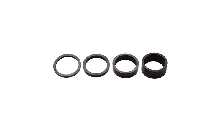 Shimano Pro 1-1/8 Gloss Carbon Headset Spacer Set