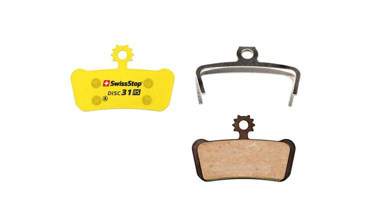 SwissStop Disc 31 RS Disc Brake Pads Pair Yellow