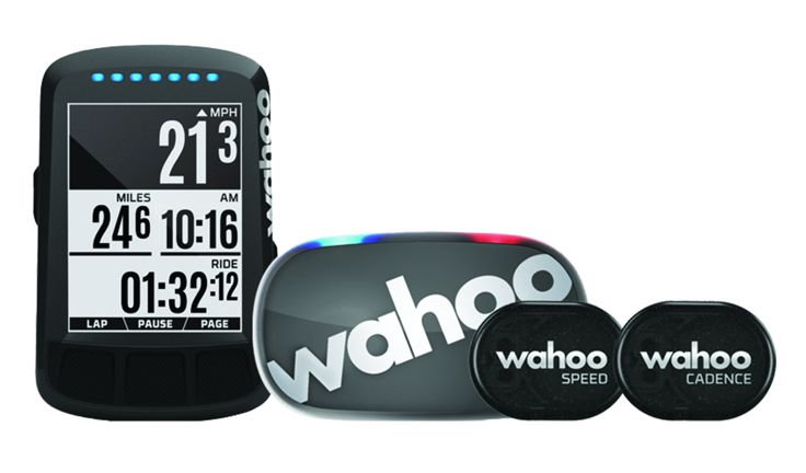 Wahoo ELEMNT BOLT GPS CycleComputer Stealth Bundle