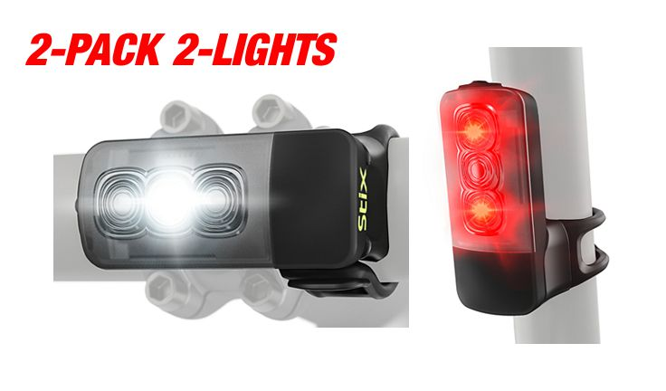 Specialized Stix Switch Combo USB HeadLight TailLight 2-Pack