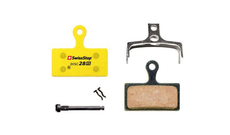 SwissStop Disc 28 RS Disc Brake Pads Pair Yellow