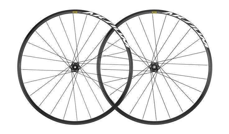Mavic Aksium 6-Bolt Disc Road Wheelset