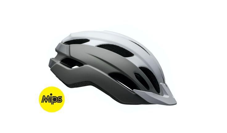 Bell Trace MIPS Rec Helmet WhiteSilver UniFit