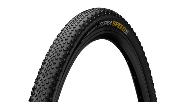 Continental Terra Speed Folding ProTection TR+Black Chili Tire
