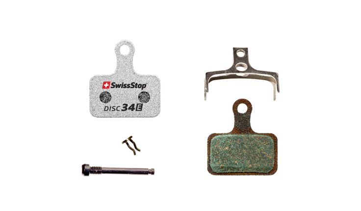 SwissStop Disc 34 E Disc Brake Pads Pair Silver