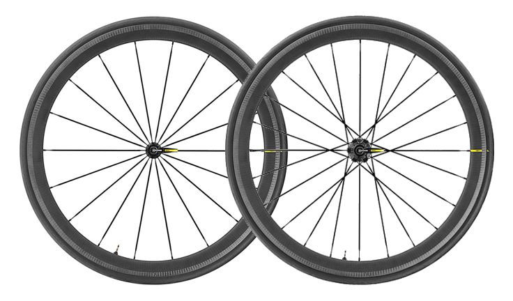 Mavic Cosmic Pro Carbon SL UST QR Road Wheelset