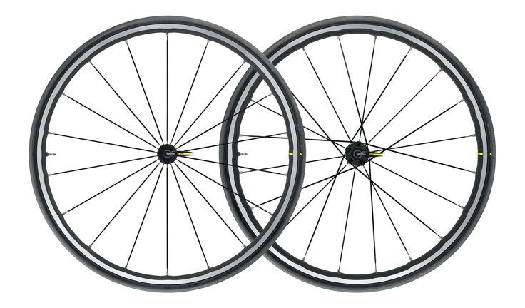 Mavic Ksyrium Elite UST Q/R Black Road Wheelset